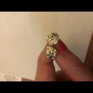 Kate spade rose earrings